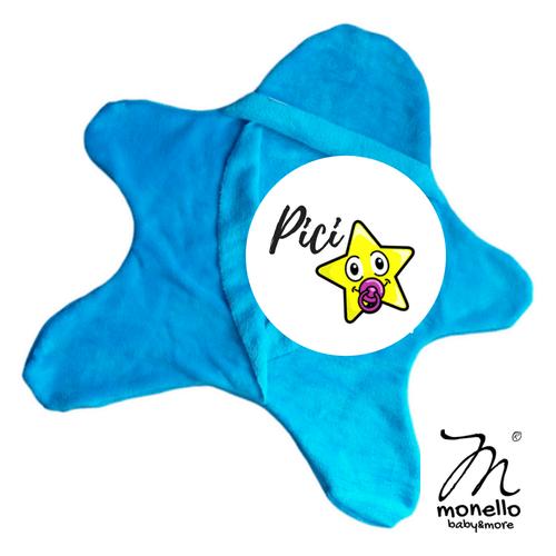 Koraszülött ruha babamelegítő picicsillag türkiz Monello baby&more