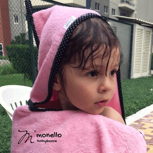 gyerek törölköző monello babarózsa