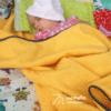 napsárga monello baba törölköző