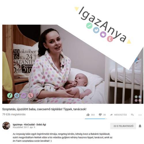 Monello a Médiában Igaz Anya Dobó Ági