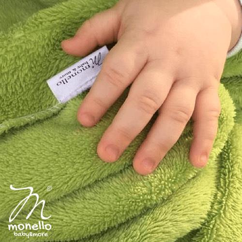 Babamelegítő Kiscsillag sárknyzöld Monello