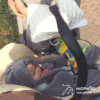 szoptatós karpárna monello babakék