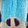 szoptatós karpárna kék monello
