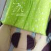 szoptatós párna zöld monello