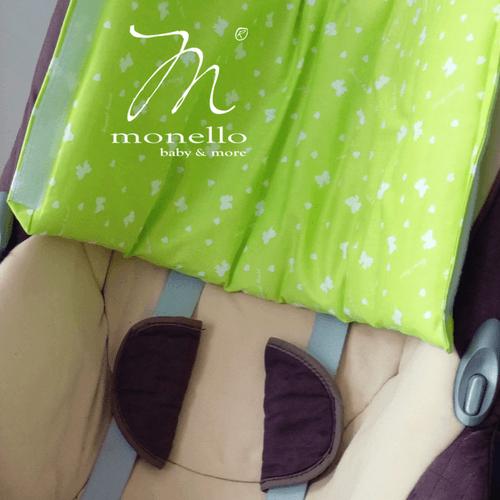 szoptatós karpárna zöld monello