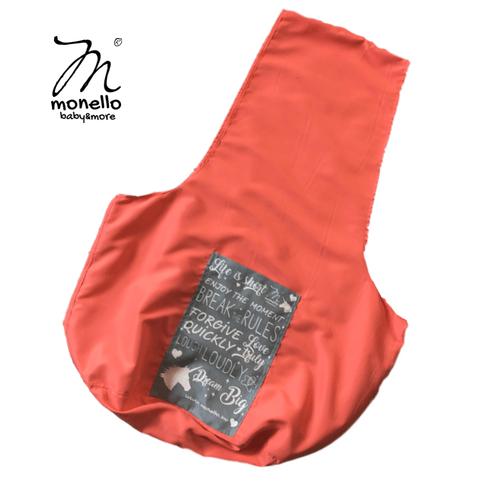 Monello táska oldaltáska barackszínű akciós