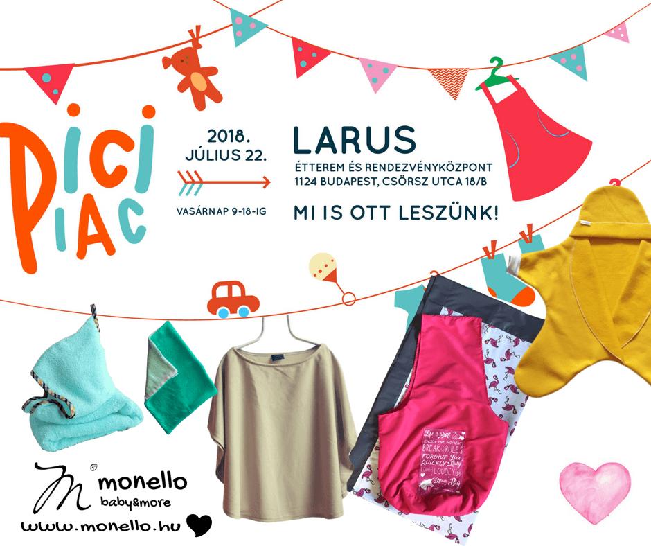 Monello Pici Piac Larus akció ajándék